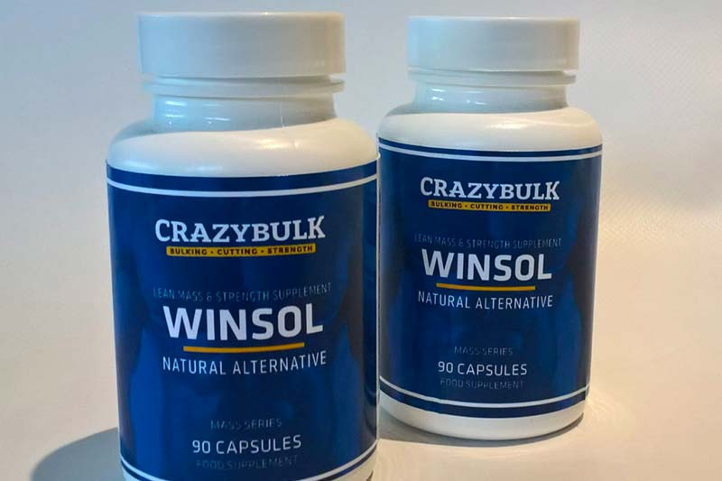 CrazyBulk Winsol Review - Alternativa legale e sicura al Winstrol